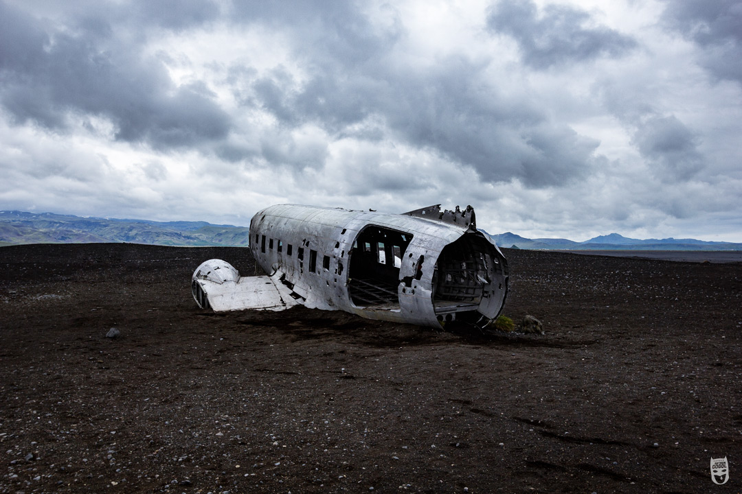 batman gogol avion écrasé islande dc3